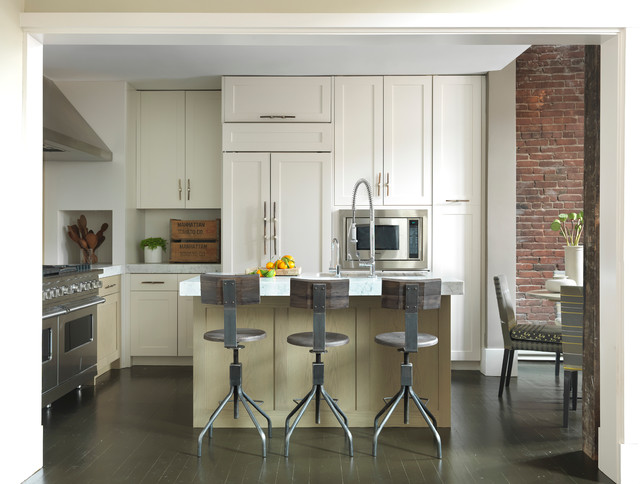 Modern Loft Modern Kitchen Boston By Koo De Kir