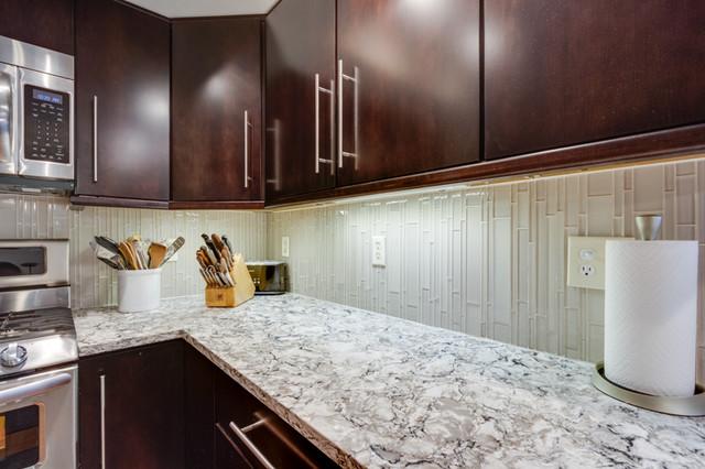 Modern Makeover in Fairfax, VA contemporary-kitchen