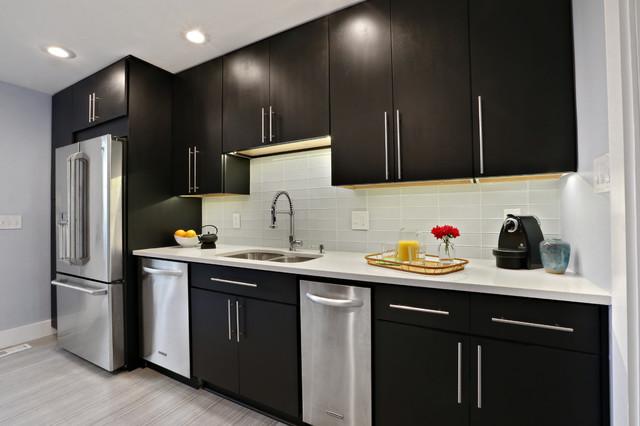 Modern Makeover Contemporary Kitchen Atlanta By Ross Design Inc