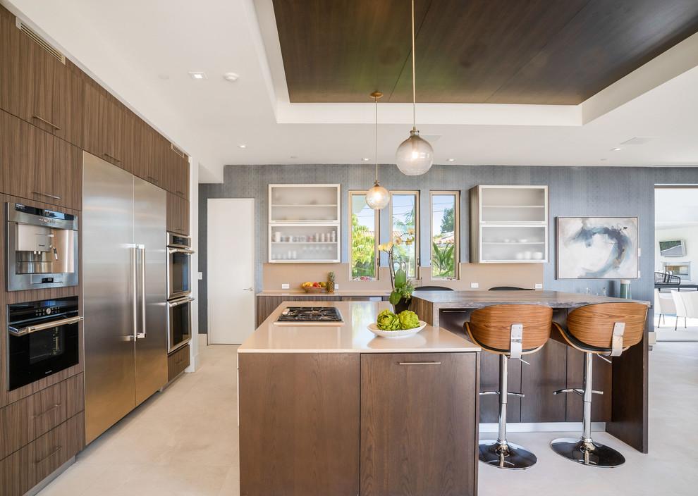 Modern Manhattan Beach - Beach Style - Kitchen - Los ...