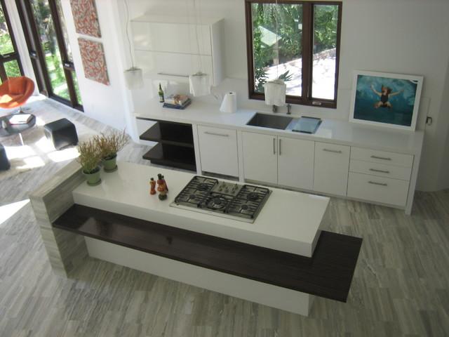 Modern Mansion contemporary-kitchen