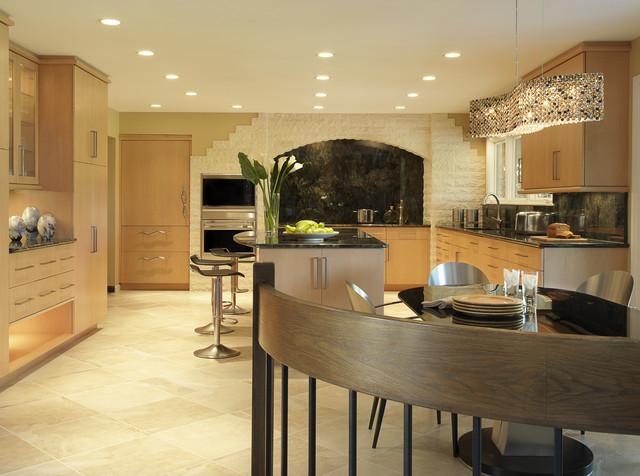 Modern Maple contemporary-kitchen