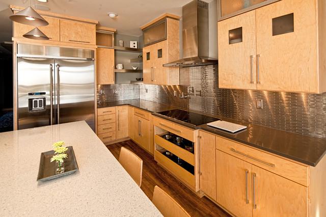 Modern Maple modern-kitchen