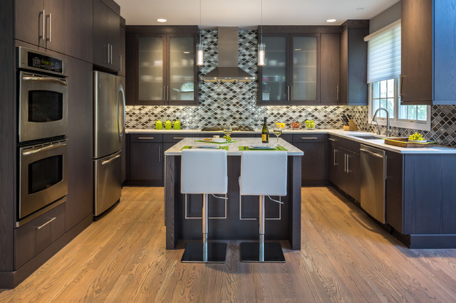 Modern Master Kitchen Remodel In Fairfield Ct Modern Kitchen New York By Debra Lipset