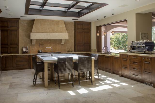 Modern Mediterranean Kitchen Rustic Kitchen San