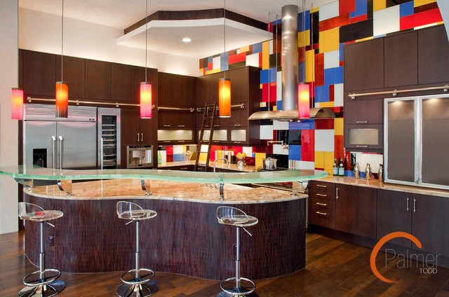 Modern Meets Art Deco Modern Kitchen Austin By Palmer Todd