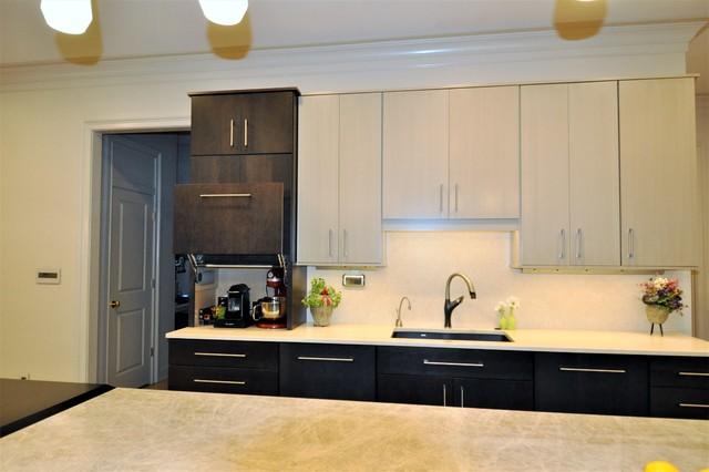 Modern Memphis Two Toned Kitchen Remodel Modern Kitchen Other By Minimax Kitchen Bath Gallery