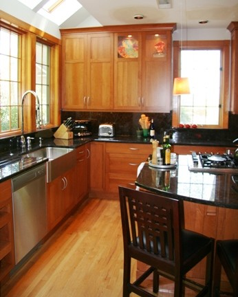Modern Mission Style Contemporary Kitchen Other
