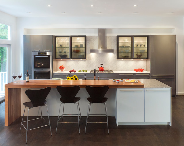 Modern Mix Contemporary Kitchen Dc Metro By Konst Siematic Kitchen Interior Design