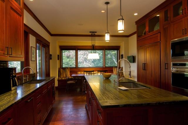 Modern Mountain - Craftsman - Kitchen - charlotte - by Designing Women