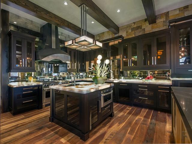 Modern Mountain Kitchen Contemporary Kitchen Denver By Sanctuary Kitchen And Bath Design Houzz