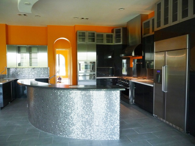 Modern New Construction modern kitchen
