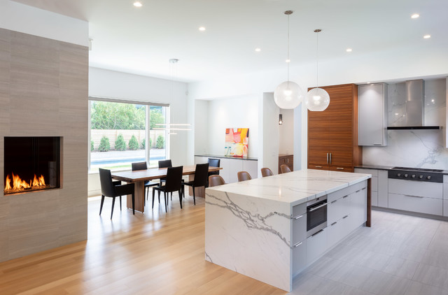 Modern New Construction in Providence, RI - Contemporary - Kitchen -  Providence - by Suburban Renewal Inc   Houzz