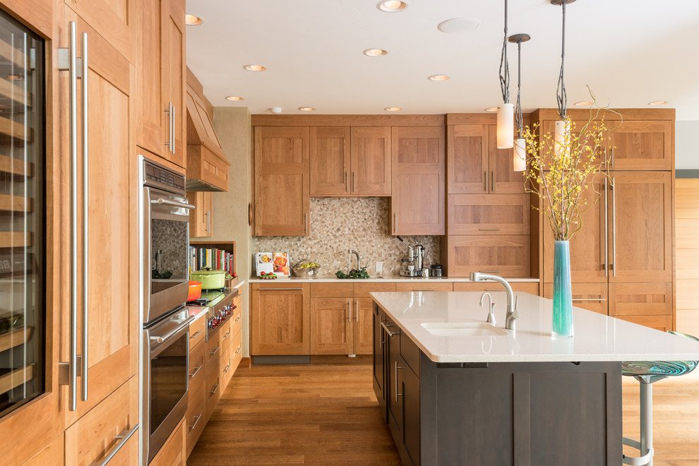 Modern Norwegian Kitchen Transitional Kitchen Other By Wagner Cabinetry And Design