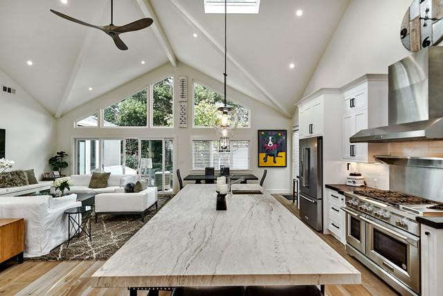 Open Floor Plan House In Willow Glen