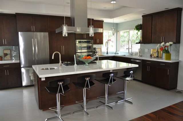 Modern Open Kitchen Modern Kitchen