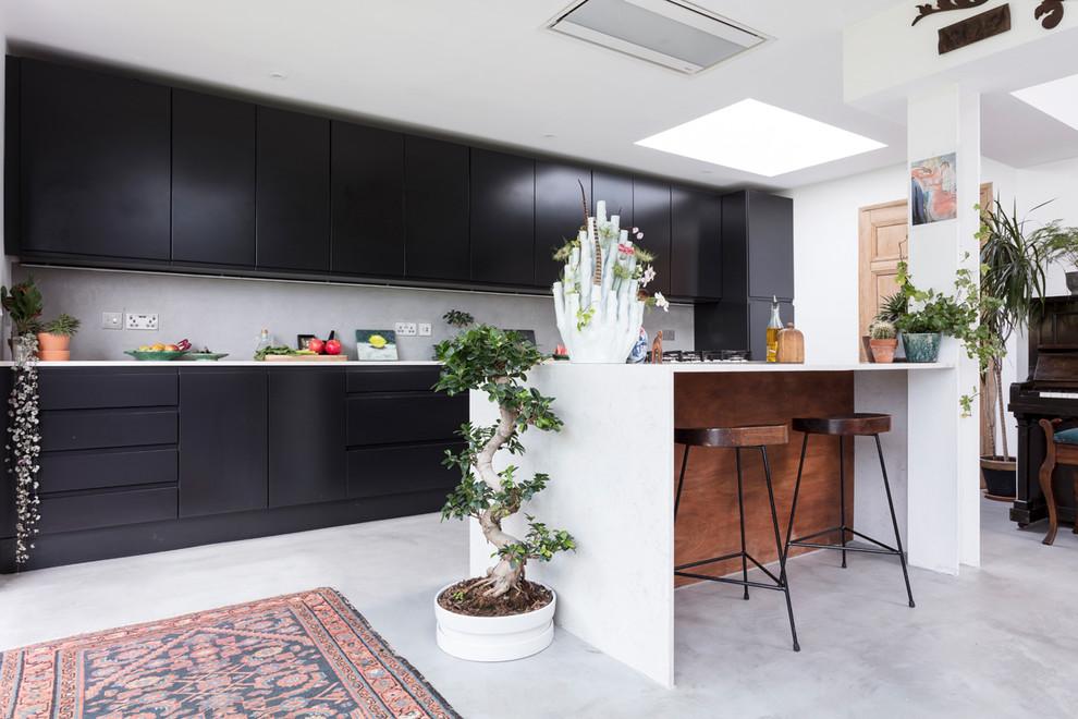 Modern Open Plan Kitchen Living Room Extension In Edinburgh Eclectic Kitchen Edinburgh By Fantoush
