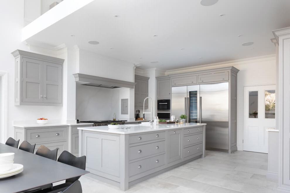 Modern Open Plan Kitchen London By Tom Howley Houzz