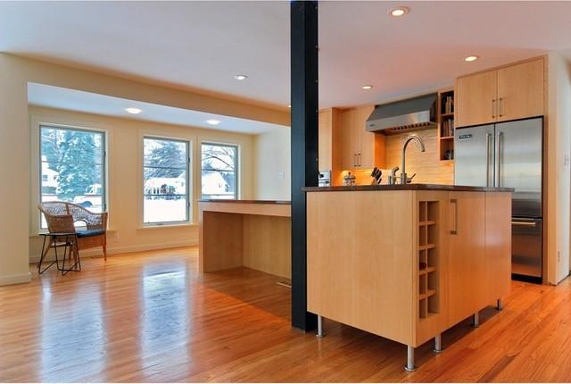 modern open suburban kitchen modern kitchen philadelphia by myers constructs inc