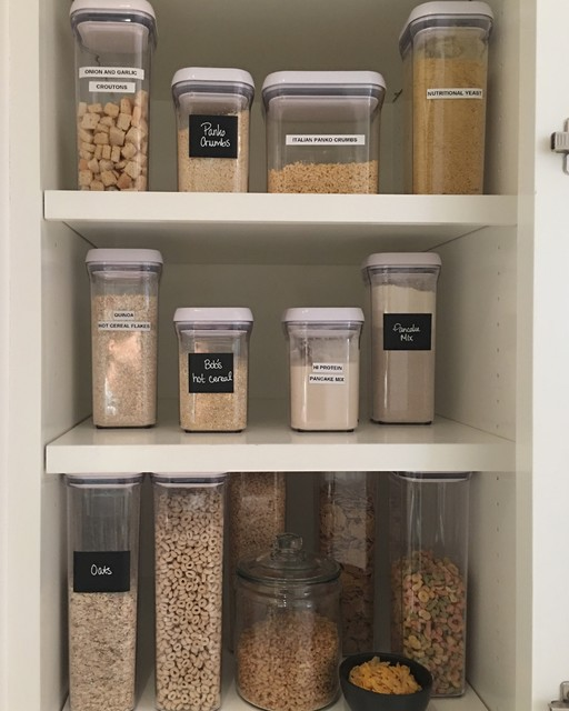 Post Konmari How To Organize Your Pantry
