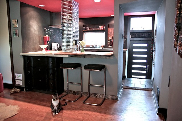Modern, Pet-friendly Home modern kitchen
