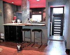 Modern, Pet-friendly Home contemporary-kitchen