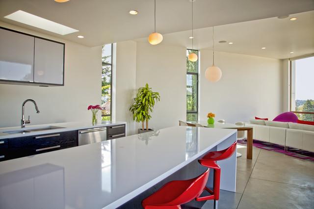 Modern Phinney House Modern Kitchen Seattle By