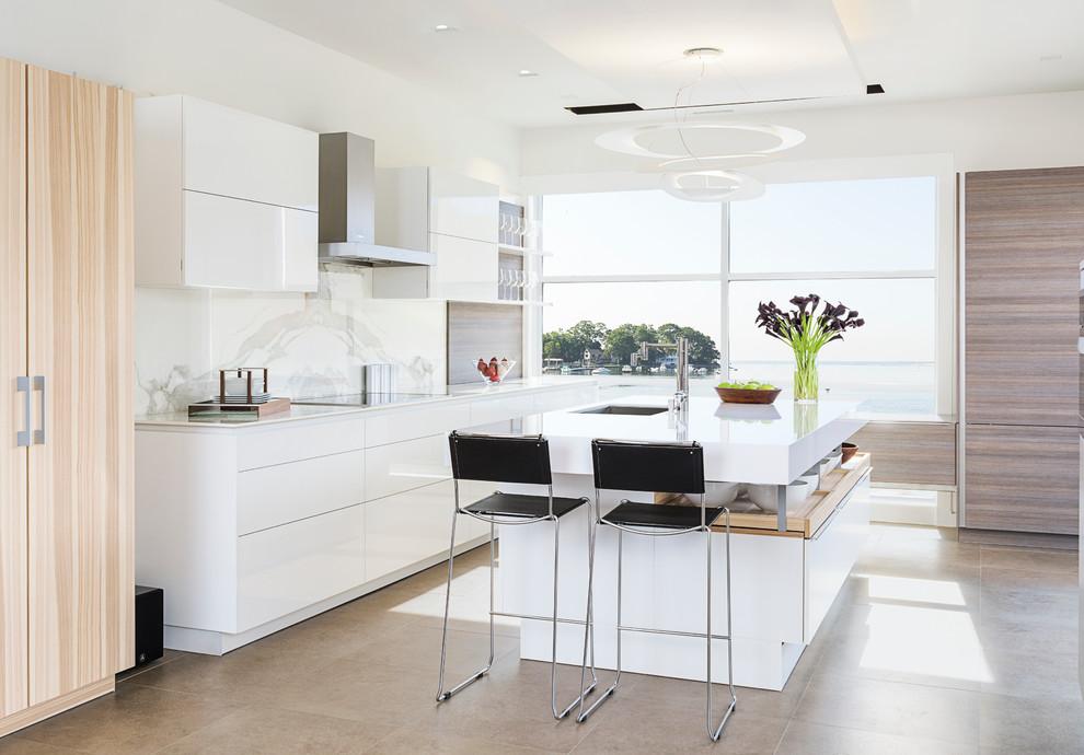Modern Poggenpohl Kitchen - Modern - Kitchen - New York ...