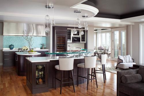 {Contemporary Kitchen by Denver Interior Designers & Decorators Seek Interior Design}