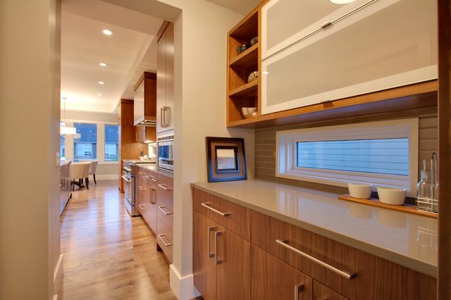Modern Prairie Home contemporary-kitchen
