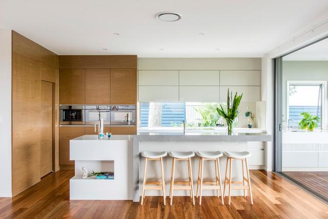 Modern queenslander contemporary kitchen brisbane for Kitchen ideas for queenslanders