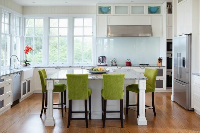 Modern queenslander shorncliffe transitional kitchen for Kitchen ideas for queenslanders