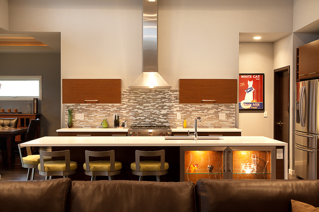 Modern Ranch Contemporary Kitchen Milwaukee By Acker Builders Inc