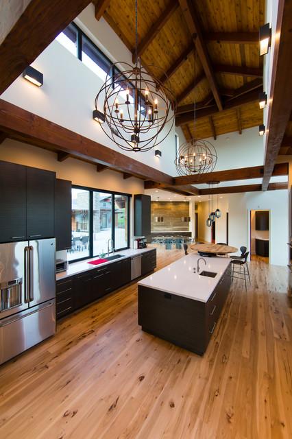 Modern Ranch Modern Kitchen San Luis Obispo By Isaman Design Inc