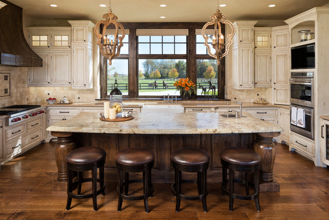Modern Ranch - Rustic - Kitchen - Minneapolis - by Kyle ...