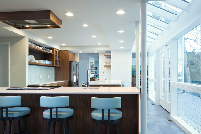 Modern remodel modern kitchen other by chuckanut for Accents salon bellingham