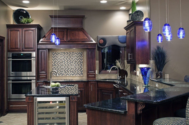 Modern Residential traditional-kitchen