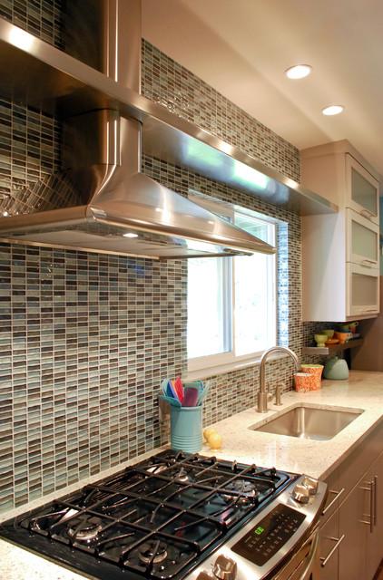 Modern Retro Style BRADSHAW DESIGNS - Contemporary - Kitchen - Austin - by BRADSHAW DESIGNS LLC