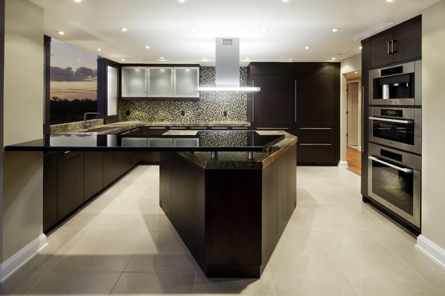 Modern Riverside Kitchen - Contemporary - Kitchen - jacksonville - by Design 51 Studio