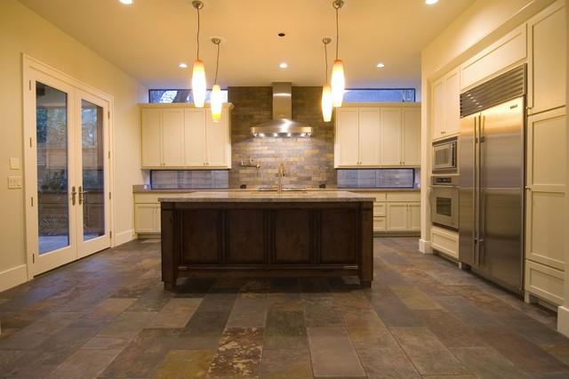 Modern Rustic Home With Casita Modern Kitchen Houston By Design Dca