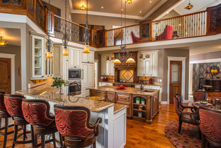 Modern Rustic Refined Ranch - Rustic - Kitchen - Charleston - by Copper Leaf Interior Design Studio