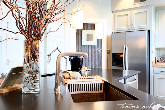 Modern Rustic Style Eclectic Kitchen Other Metro