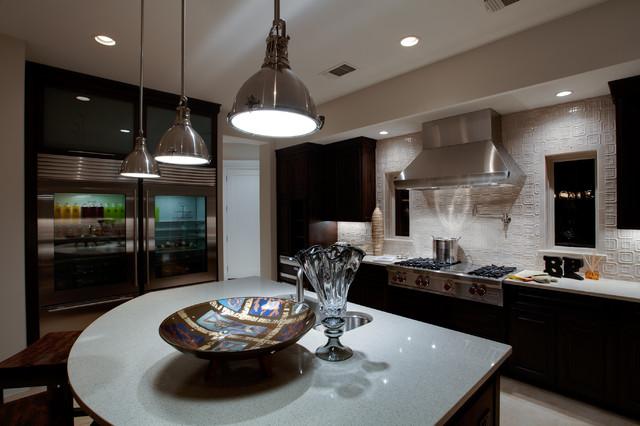 Modern Santa Fe Style Modern Kitchen Other Metro