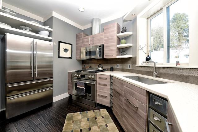 Modern Silo Contemporary Kitchen
