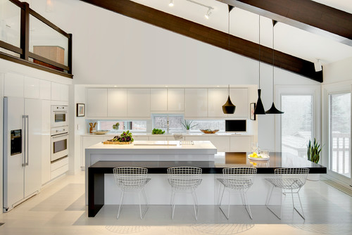 Modern Sophisticate - Kitchen & Living Room