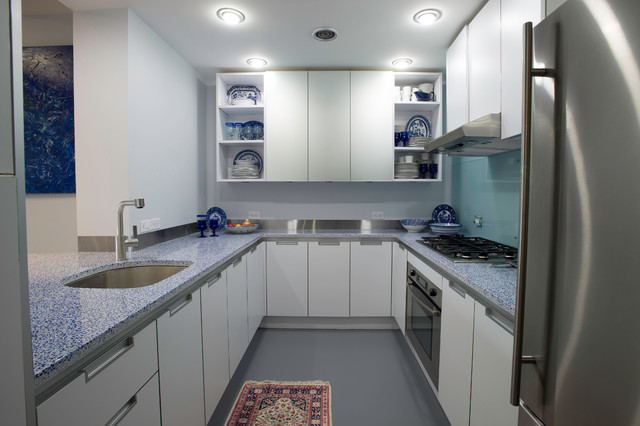 Modern South Boston Pied A Terre Modern Kitchen Boston By Hammond Design
