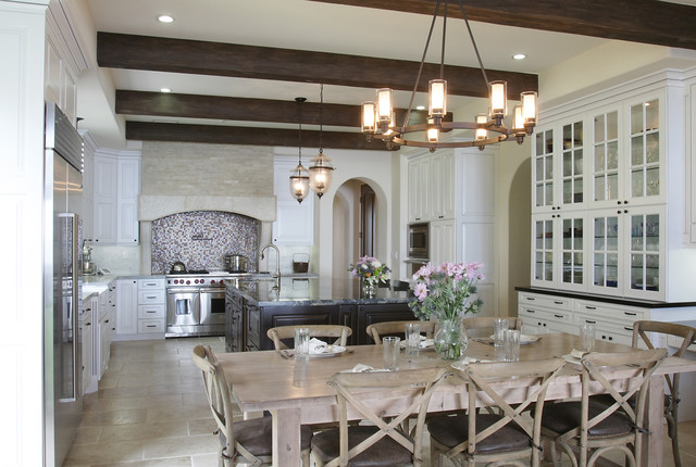 Modern Spanish Traditional Kitchen Los Angeles By