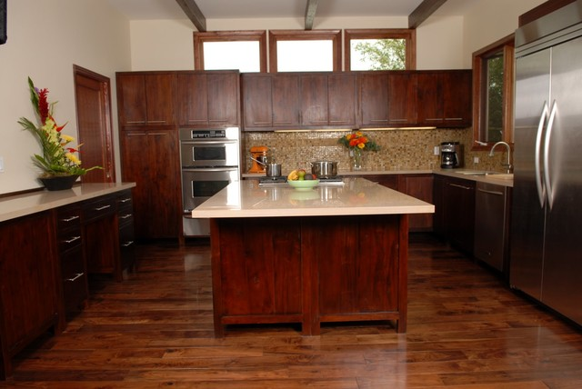 Modern Teak Kitchen Reclaimed Teak
