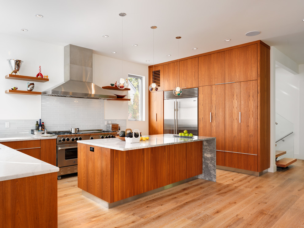 Modern Teak Kitchen Cabinets Modern Teak Kitchen   Modern   Kitchen   Vancouver   by South