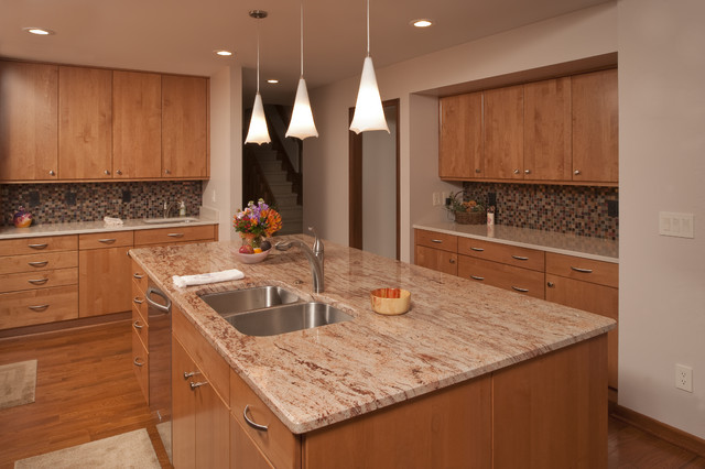 After contemporary-kitchen